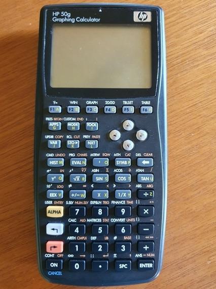 Calculadora Hp 50 G Original Gráfica Engenharia .obc Store