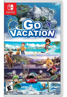 Go Vacation -juego Fisico- Nintendo Switch - Snipercl