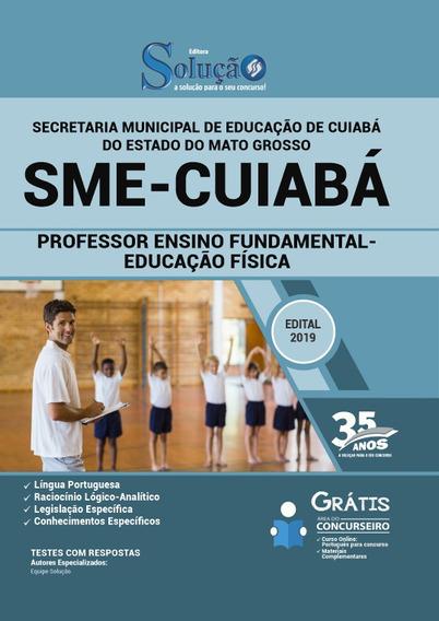 Sme-mt2019 -professor De Ensino Fundamental- Educação Física