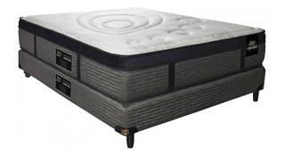 Sommier King Koil Luxury Pocket King 200x200cm gris oscuro