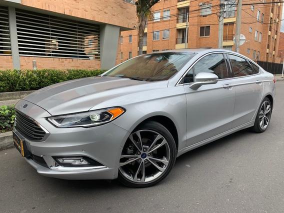 Ford Fusion Titanium Plus 2.000t A/t 7ab Fe Sun Roof 2017