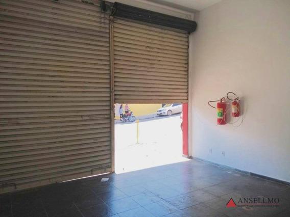 Salão Para Alugar, 40 M² Por R$ 1.500,00/mês - Centro - São Bernardo Do Campo/sp - Sl0340