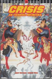 Comic Crisis En Las Tierras Infinitas Marv Wolfman Español