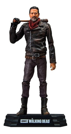 Action Figure The Walking Dead Negan 18 Cm Boneco