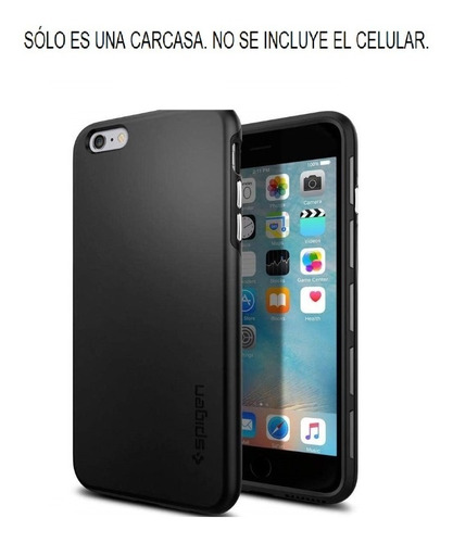 Apple iPhone 6 Plus 6s Plus Spigen Thin Fit Hybrid Carcasa