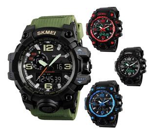 Reloj Hombre Deportivo Skmei 1155 Var Colores Impacto Online