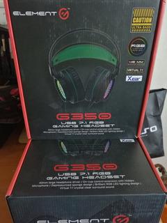 Audífonos Element Gamer G350 Nuevos Garantía