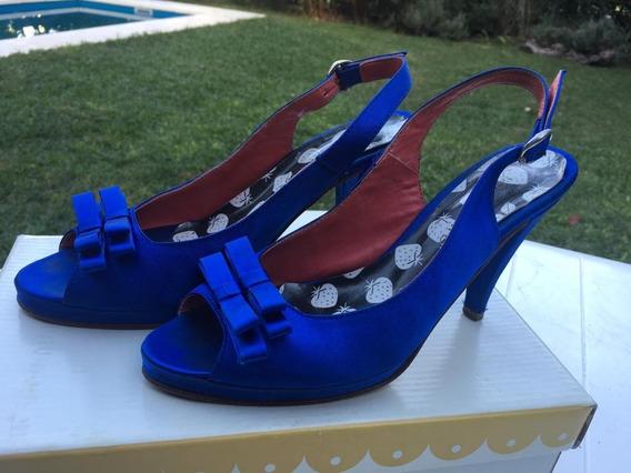 Zapato Fiesta T38 - Sofy Martire - 6 Ctas Sin Int!!!