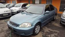 Civic 1.6 Ano 2000 Sedan + Completo