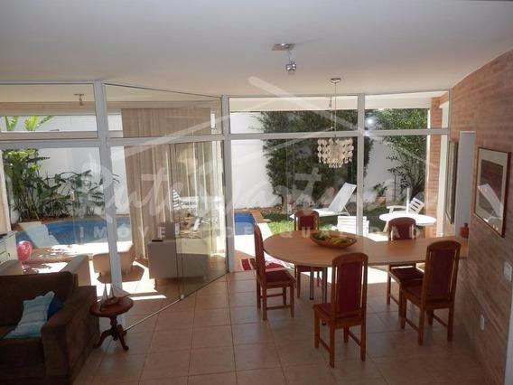 Linda Casa Em Condomínio Com Projeto De Arquitetura Diferenciado Para Venda E Locação, Condomínio Paineiras, Paulínia. - Ca3015