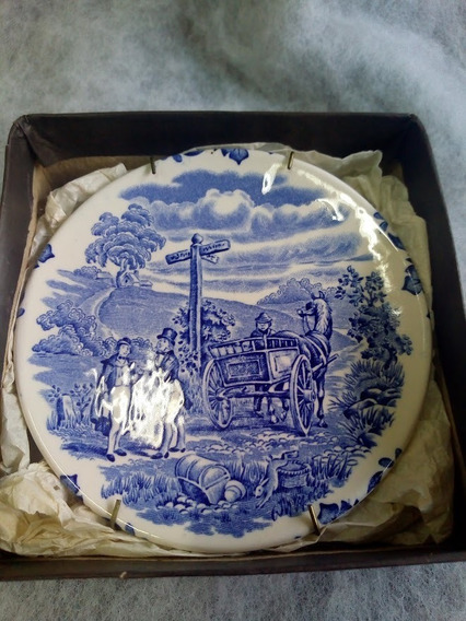 Plato Decorativo Antiguo English Ironstone Tableware