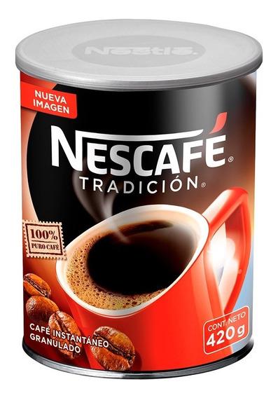 Nescafé Tradición Tarro 420g