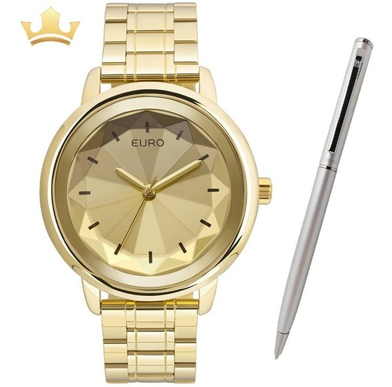 Relógio Euro Feminino Euy121e6dc/4d C/ Garantia E Nf