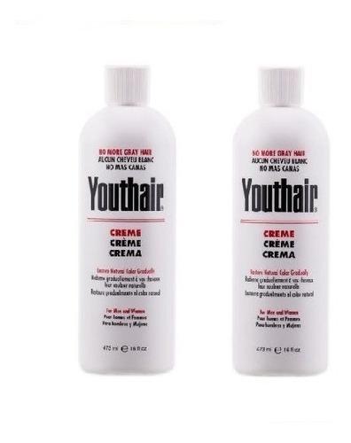 Youthair 473ml Recupera Tono Natural Elim - L a $42