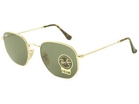acb0e9d53 Oculos Rayban Hexagonal Feminino - Óculos De Sol no Mercado Livre Brasil