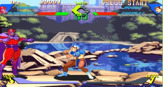 Jogo Xmen Vs Street Fighter Para Pc + Jogos Extras