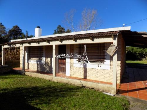 Casa En El Balneario Las Flores- Ref: 3013