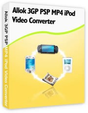 Allok 3gp Psp Mp4 iPod Video Converter (digital)
