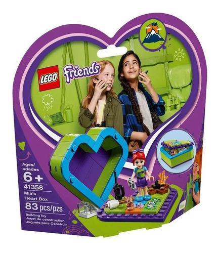 Imagem 1 de 2 de Lego Friends - Caixa De Coração Da Mia - 41358 - Lego
