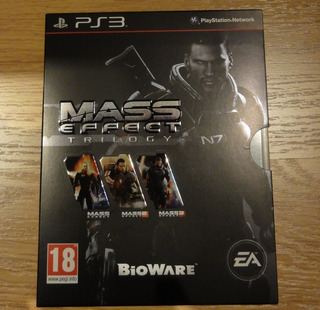 Mass Effect Trilogy Ps3 (subtitulos Español)