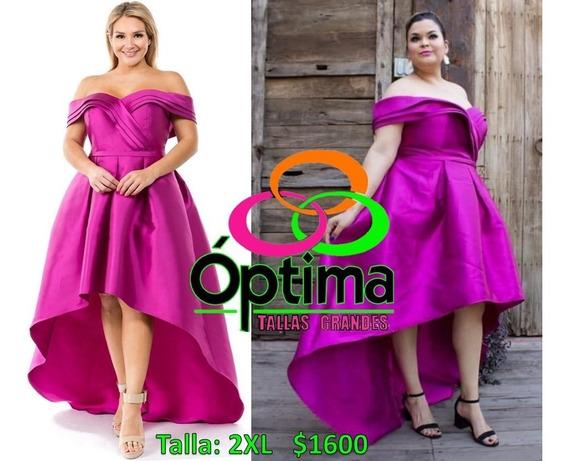 Vestido Noche/graduacion Talla Extra 2xl
