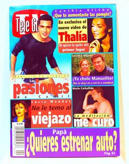 Revista Tele Guia Thalía Lucia Mendez