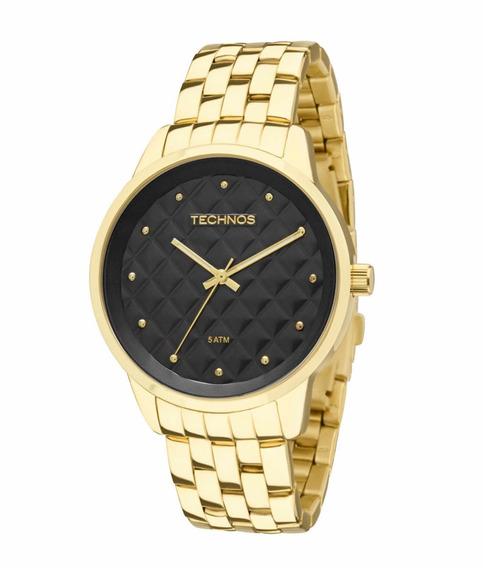 Relógio Technos Feminino Dourado 2035lwm/4p