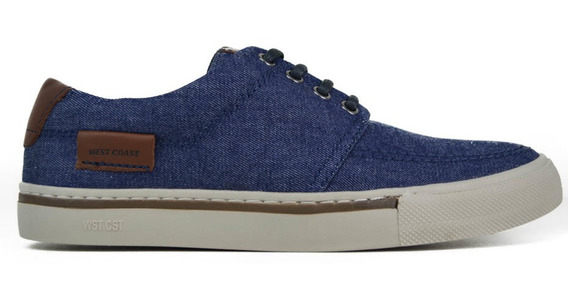 Sapatênis Masculino West Coast Jeans Azul 203403-6