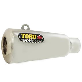 Escape Toro T-2 Aço Inox Cg / Fan 150 / Fan 160 2014 - 0066