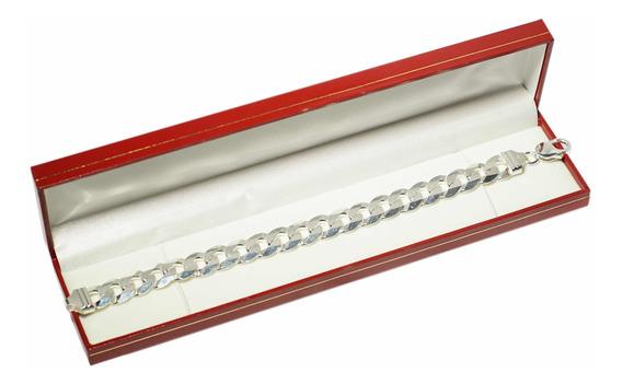 Pulseira Escama 12mm Prata 925