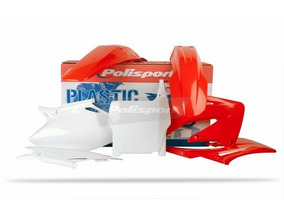 Kit Plasticos Cr 125/250 2004-2007 Vermelha