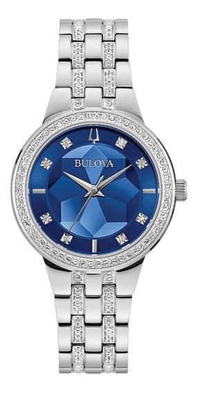 Relógio Bulova Phantom Swarovski 96l276 Feminino + Nfe