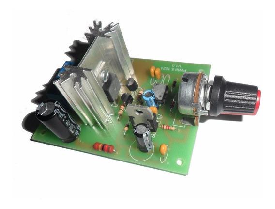 Placa Controladora Pwm Para Motores Dc 12v E 30v E 8a
