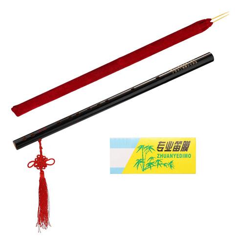 Imagen 1 de 9 de Flauta De Bambú De Viento De Madera Instrumento Musical Prin