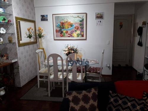Apartamento Com 3 Dormitórios À Venda, 124 M² Por R$ 350.000,00 - Centro - São José Dos Campos/sp - Ap2401