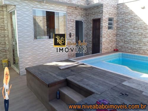 Casa Em Unamar Cabo Frio Casa Super Linda Em Unamar Cabo Frio Região Dos Lagos - Vcap 215 - 69345658