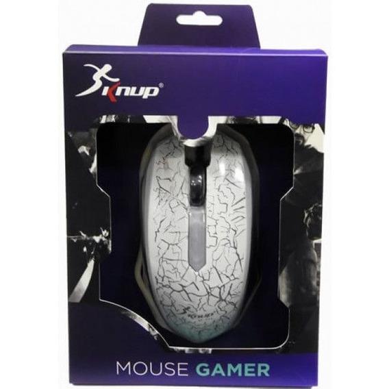 Mouse Gamer Knup - Novo - Usb