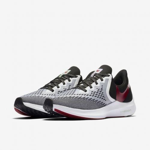Tenis Nike Zoom Winflo 6 Cinza Feminino Original + Nf