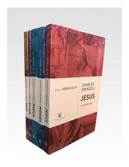 Kit 5 Livros | Heróis Da Fé | Charles Swindoll