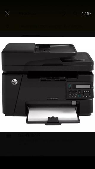 Promoção-impressora Multifuncional Hp Pro M127fn C/nota F