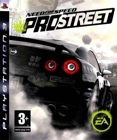 Need For Speed Prostreet Ps3 Mídia Física Lacrado