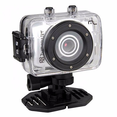 Camera Sportcam Multilaser Burnquist Hd Dc180 A Prova D´agua