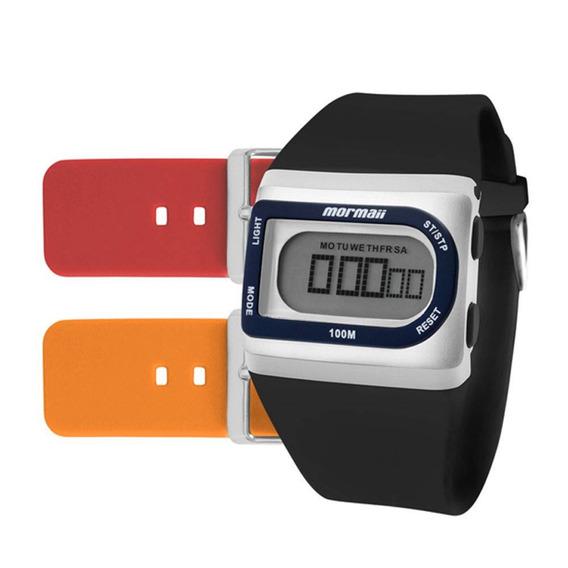 Relógio Mormaii Troca Pulseiras Fzg/t8e