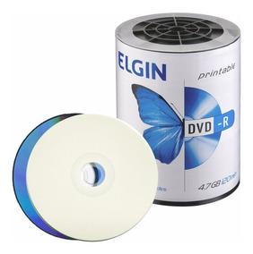 100 Dvd-r Elgin 16x 4.7gb Print. Original