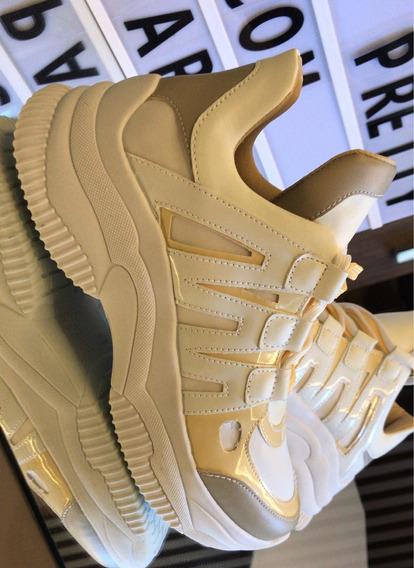 Tênis Casual Feminino Chunky Dad Sneaker Sola Alta Flatform Preto Pink Lançamento Original Moda Lv Blogueira 12x Frete