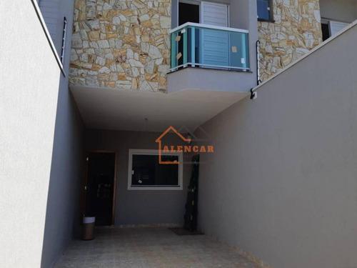 Sobrado À Venda, 75 M² Por R$ 420.000,00 - Jardim Caguassu - São Paulo/sp - So0097