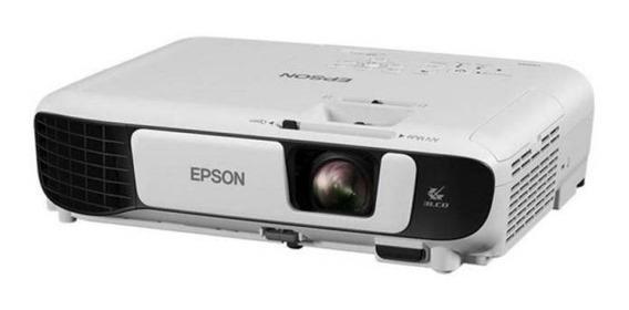 Projetor Epson X41+ Wireless Portátil 3.600 Lumens Usb B E