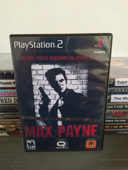 Jogo Max Payne - Ps2 - Original