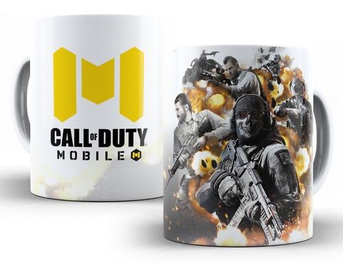 Imagem 1 de 3 de Caneca Call Of Duty Mobile (cod) Em Cerâmica