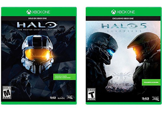 Xbox One Juego Combo Pack Halo